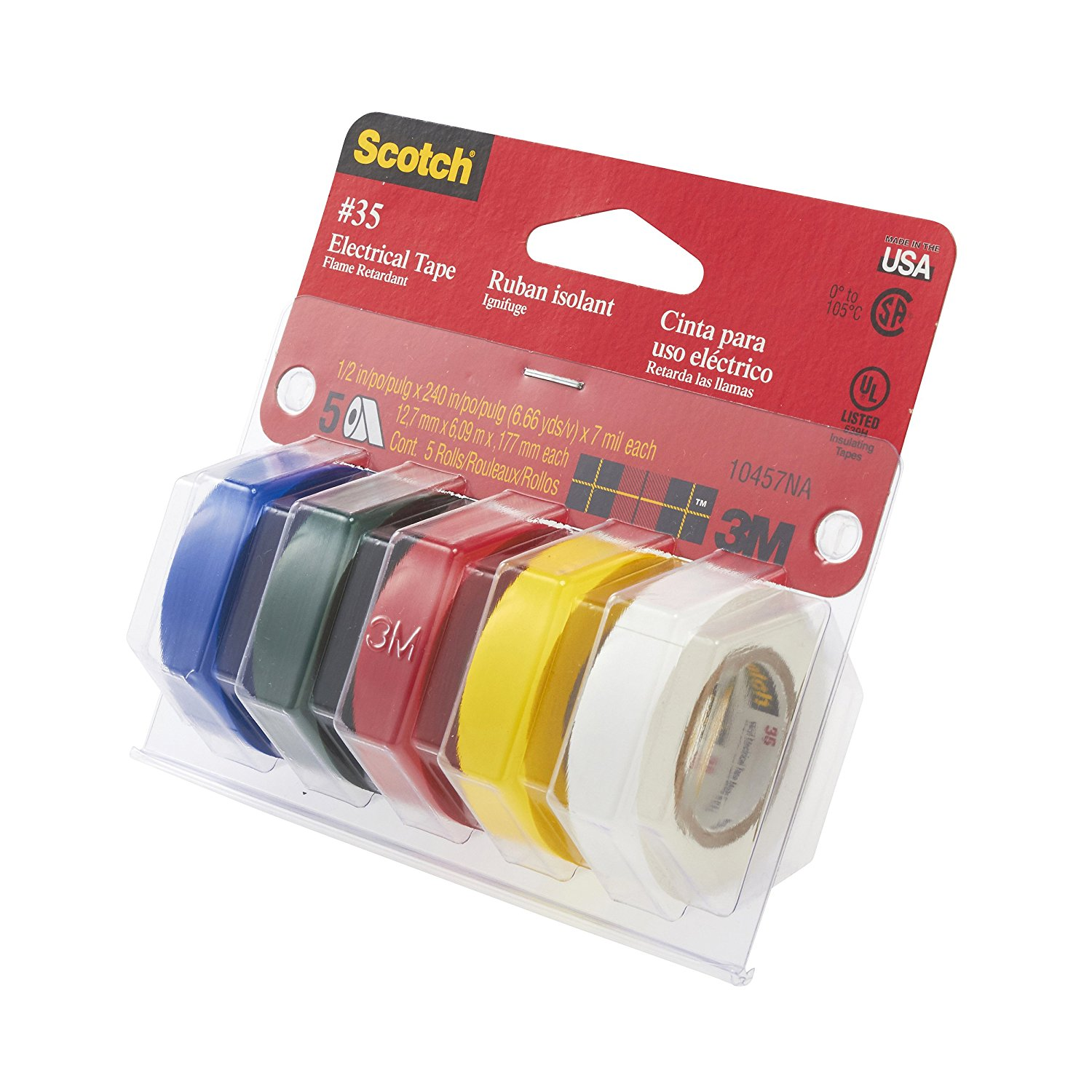 3M Scotch Electrical Tape Value Pack