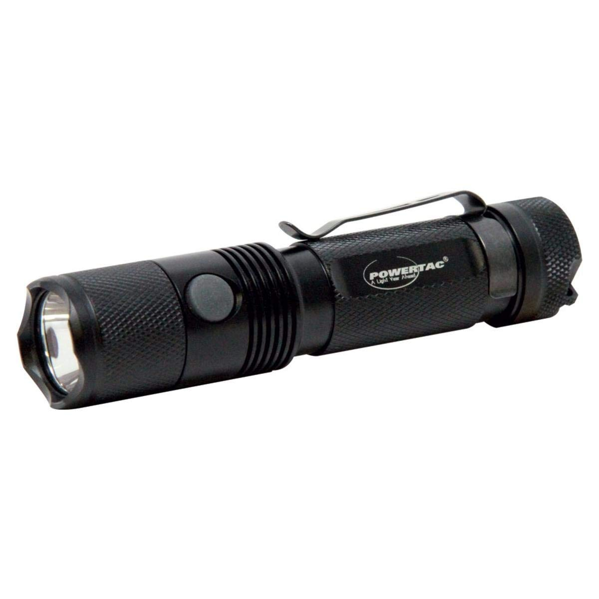 Powertac e20 tactical flashlight